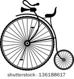 stock-vector-vintage-bicycle-136188617