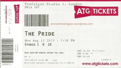 The Pride ticket12Aug13