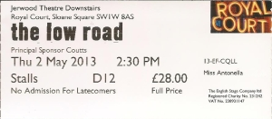 TheLowRoad ticket