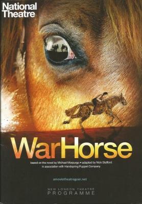 War Horse programme cover