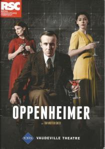 O programme cover