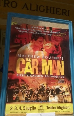 The Car Man poster