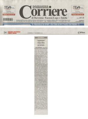Corriere Romagna 1 Nov15 InTheFlesh p34