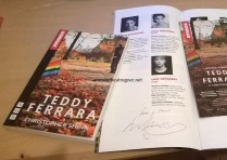 Teddy Fearrara signed