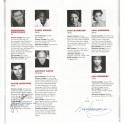 Teddy Ferrara programme autographs