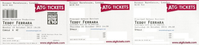 Teddy Ferrara tickets