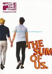 The Sum Of Us programme cover