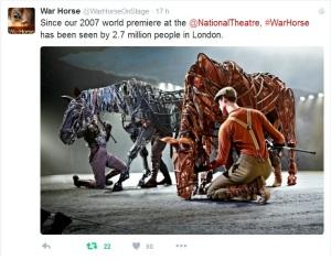 WarHorseOnStage