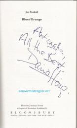 Blue Orange autograph