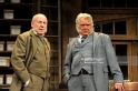 LONDON, ENGLAND - JUNE 13: Christopher Timothy as Jim Heeler and Martin Shaw as Henry Horatio Hobson in Harold Brighouse's Hobson's Choice directed by Jonathan Church at Vaudeville Theatre on June 13, 2016 in London, England. (Photo by Robbie Jack/Corbis via Getty Images)