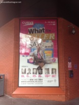 WTBS poster outside Curve