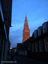 Leicester at sunset 4