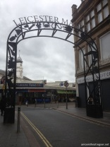 Leicester Market the gate