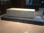 Richard III grave inside the cathedral 1
