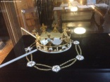 the crown over the coffin